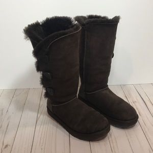Ugg Chocolate brown tall boots size 9